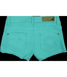 Patrizia Pepe Girls Lace Shorts - OUTLET Patrizia Pepe Girls Lace Shorts Dark turquoise