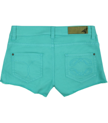 Patrizia Pepe Girls Lace Shorts Patrizia Pepe Girls Lace Shorts Dark turquoise