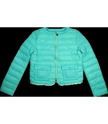 Patrizia Pepe Girls Light Weight Padded Jacket Patrizia Pepe Girls Light Weight Padded Jacket turquoise