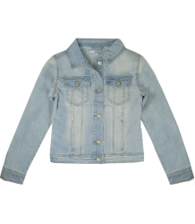 Patrizia Pepe Girls Denim Jacket Patrizia Pepe Girls Denim Jacket light denim blue