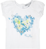 Butterfly Heart T-shirt Patrizia Pepe Girls Butterfly Heart T-shirt
