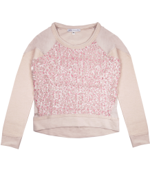 Patrizia Pepe Girls Paillette Sweat Patrizia Pepe Girls firenze junior Paillette Sweat soft pink