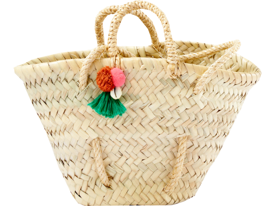 April showers by polder panier basket orange mayonnaise - Diametre panier basket ...