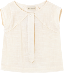 April Showers by Polder Nevada Blouse April Showers by Polder Nevada Blouse off white
