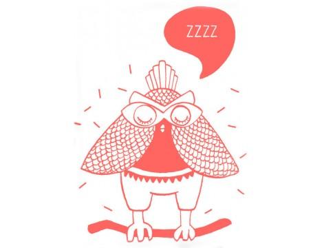 OMY Phospho Poster Owl