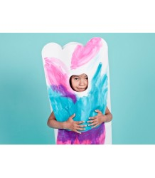 OMY Paper Coloring Costume Dede OMY Costume Dede a Colorier