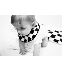 Anatology Bib Anatology, bib, black checkered