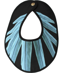 Anatology Bib Anatology Bib, ara, blue feathers
