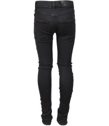 Little Remix Moon - Stretch Denim Jeans Little Remix JR Moon, black denim jeans