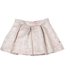Bengh per Principesse Pleat Skirt Bengh per Principesse Pleat Skirt, Silver jaquard