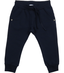 Patrizia Pepe Girls Fleece Trouser Baby Patrizia Pepe Girls Fleece Trouser, navy blue