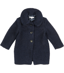Patrizia Pepe Girls Wool Coat Patrizia Pepe Girls Wool Coat, navy blue