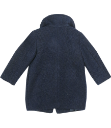 Patrizia Pepe Girls Wool Coat Patrizia Pepe Baby Girls Wool Coat, navy blue