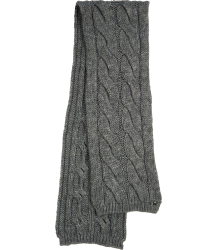 Knitted Scarf Patrizia Pepe Girls Knitted Scarf dark grey
