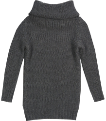 Tunic Knit Patrizia Pepe Girls Col Sweater Knit, dark grey