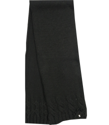 Patrizia Pepe Girls Knitted Scarf Patrizia Pepe Girls Knitted Scarf, black
