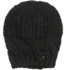 Knitted Hat Patrizia Pepe Girls Knitted Hat black