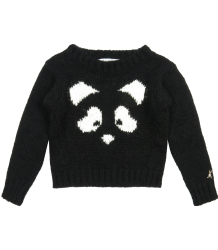 Patrizia Pepe Girls Sweater Knit with Snout Patrizia Pepe Girls Sweater Knit with Face