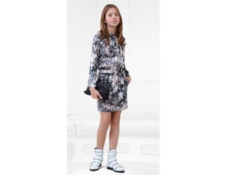 Little Remix Mars - Printed Silk Dress