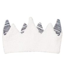 Noé & Zoë Crown Noe & Zoe Crown, black and white stripe