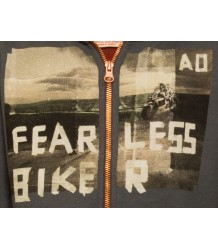 American Outfitters Hoodie Full Zip Biker American Outfitters Hoodie Full Zip Biker