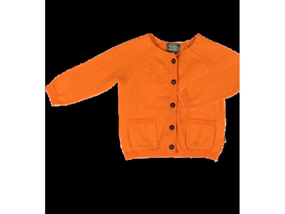 9f437dd06 Kidscase Philly Baby Cardigan - Orange Mayonnaise