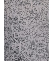 Soft Gallery Dekbedhoes Aop UIL Grijs Soft Gallery Bedcover, grey drizzle, owl