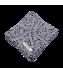 Soft Gallery Muslin Doek (Pak van 3) Aop UIL Grijs Soft Gallery Muslin (Pack of 3), grey drizzle