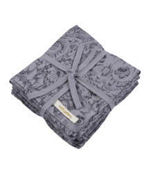 Soft Gallery Muslin (Pack of 3) Aop OWL Grey Soft Gallery Muslin (Pack of 3), grey drizzle
