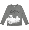 Lion of Leisure T-shirt LS Polar Lion of Leisure T-shirt LM Polar grey