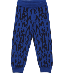 Mini Rodini Jacquard Leggings Mini Rodini Jacquard Leggings fine knite blue