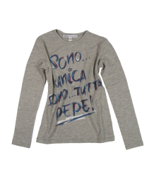 Patrizia Pepe Girls T-shirt Patrizia Pepe Firenze Junior Maglia Jersey Top