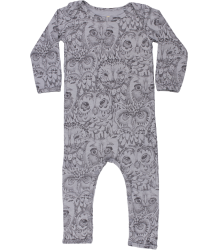 Soft Gallery Ben Bodysuit Soft Gallery Ben Body drizzle grey OWL aop