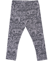 Soft Gallery Paula Leggings Soft Gallery Paula Leggings grey drizzle owl aop