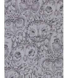 Soft Gallery Beanie Aop OWL Grey Soft Gallery Beannie grey drizzle owl aop