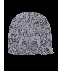 Soft Gallery Beanie OWL Soft Gallery Beannie grey drizzle owl aop