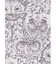 Soft Gallery Mutsje Aop UIL Creme Wit Soft Gallery Beanie cream white owl all over print