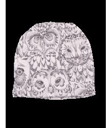 Soft Gallery Beanie Aop OWL Cream Soft Gallery Beanie cream white owl all over print