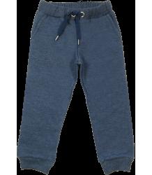 Simple Kids Jogging Sweat Pants Simple Kids Jogging Sweat Pants dark blue melange