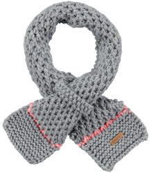 Barts Mily Scarf Barts Mily Scarf heather grey pink