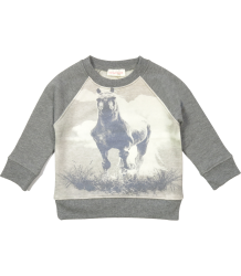 Simple Kids Jumping Sweatshirt Simple Kids Jumpink Sweatshirt grey