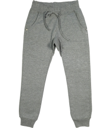 Patrizia Pepe Girls Baggy Fleece Trouser Patrizia Pepe Girls Baggy Fleece Trouser mixed grey