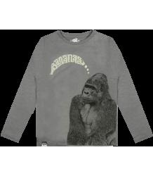 Lion of Leisure T-shirt LS Gorilla Lion of Leisure T-shirt LM Gorilla steel grey