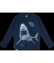 Lion of Leisure T-shirt LS Shark Lion of Leisure T-shirt LM Shark indigo blue