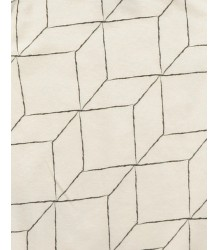Nununu GRID Scarf Nununu Scarf, white with grid