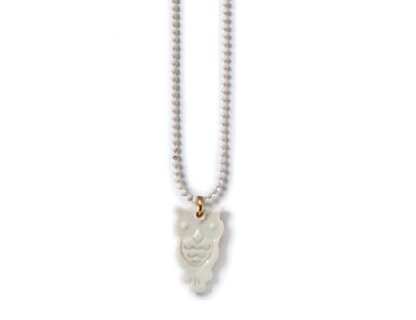 Polder Girl Owl Necklace