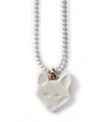 April Showers by Polder Fox Necklace April Showers by Polder Fox Necklace white porcelain