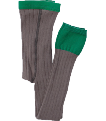 Rib Leggings Buisjes & Beugels Rib Leggings grey green