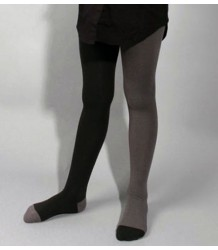 Buisjes & Beugels +++ Duo Tights Buisjes & Beugels Duo Tights grey black
