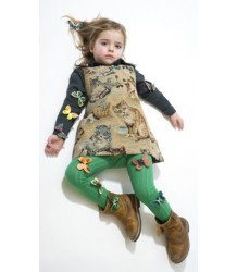 Buisjes & Beugels +++ Rib Tights Buisjes & Beugels Rib Tights in green